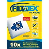 10 x FILTATEX (P) Beutel Alternative für Aldi EIO110 / aldi eio 110 - eio ei 110 - aldi ei 110 microfiltplus - aldi ei110 / ei 110 aldi