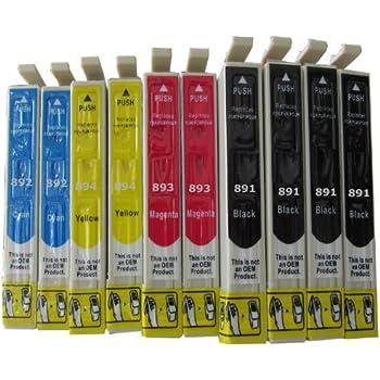 ESMOnline 10 komp. Epson Druckerpatronen zu Epson Stylus