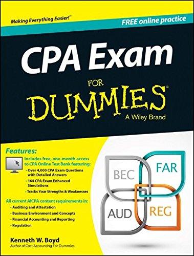 CPA Exam For Dummies