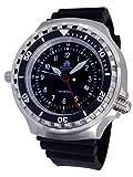 Tauchmeister - Reloj XXL 52 mm - 1000 m - Reloj militar de buceo con cristal de zafiro y válvula de helio...