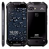AGM X2 SE Android 7.1 Handy 5,5 Zoll FHD AMOLED Display IP68 6000 mAh Wasserdicht Robust Telefon Dual SIM 16,0 MP (Classic 6+64 5,5 Zoll)
