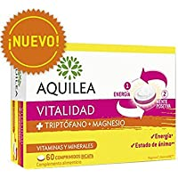 AQUILEA VITALIDAD TRIPTÓFANO+MAGNESIO 60 COMP BICAPA
