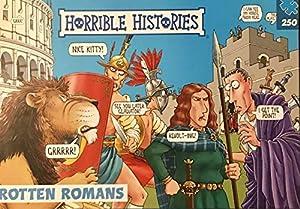 Horrible Histories PLG 7275 Romans - Puzzle (250 Piezas), diseño de Paul Lamond Games, Color Azul