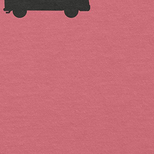 Texlab Bulli T1 Evolution - Damen T-Shirt Rosa