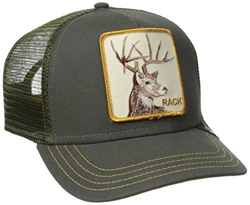 Goorin Bros. Rack Trucker cap - olive (Cap Racks Für Baseball-caps)