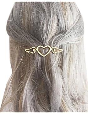 [Patrocinado]Horquillas para las señoras, forma de corazón del pelo Pinzas para el cabello Mujeres Inventage Barrette accesorios...