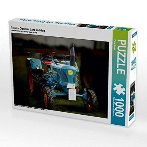 Traktor Oldtimer Lanz Bulldog 1000 Teile Puzzle quer