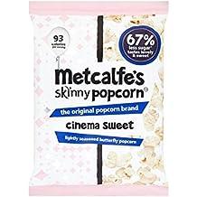 Metcalfe's Skinny Cinema Sweet Popcorn Sharing Bag 70g - (Pack of 6)