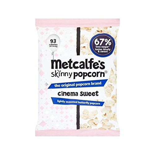 Cinéma Maigre Sac De Partage De Pop-Corn Sucré De 70G Metcalfe - (Paquet de 4)