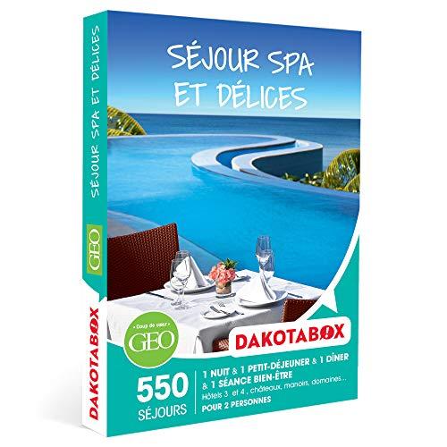 DAKOTABOX - Séjour spa et délices - Coffret Cadeau Séjour Bien-être - 1 nuit avec...
