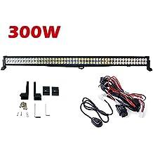 300 W LED faro faro da lavoro riflettore Offroad LED Barra Proiettore Luce anteriore work light bar 12 V 24 V per SUV