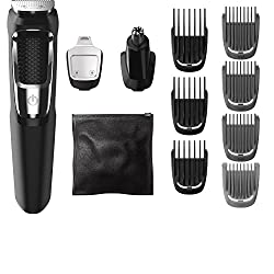 Philips Norelco Multigroom Set Series 3000 With 13 Attachments Ffp, Mg3750