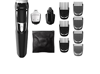Philips Norelco Multigroom All-In-One Series 3000, 13 attachment trimmer, MG3750 MG3750