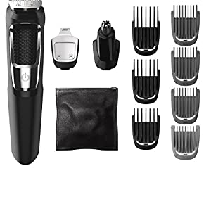 Philips Norelco Multigroom Series 3000 13 Attachments Shaving Set Mg3750 1