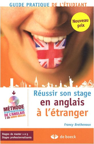 Russir son stage en anglais  l'tranger (1CD audio)