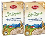 Töpfer Bio-Dinkel-Vollkornbrei, 2er Pack (2 x 175g)