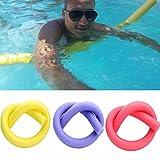 UxradG Noodle - Piscina flexible con flotador de agua para ayudar a los niños a nadar con espuma flotante para adultos y kits accesorio de natación