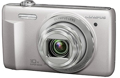 "Olympus VR-340 Fotocamera compatta digitale, 16 megapixel, zoom grandangolare 10x (24-240mm) Lcd 3"""