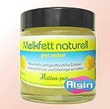Algin Melkfett Pflanzlich 120 ml Glastiegel Lebensmittelqualität Gleitmittel nativ