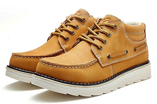 TDA , Chaussures à lacets homme Marron Clair