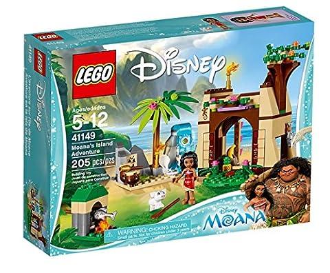 LEGO - 41149 - Disney Princess - Jeu de Construction - L'aventure Sur L'île de Vaiana