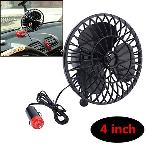 Yeshai3369 Raffreddatore per Mini-Ventola Estiva con Raffreddamento ad Aria 12V con Ventosa per Auto