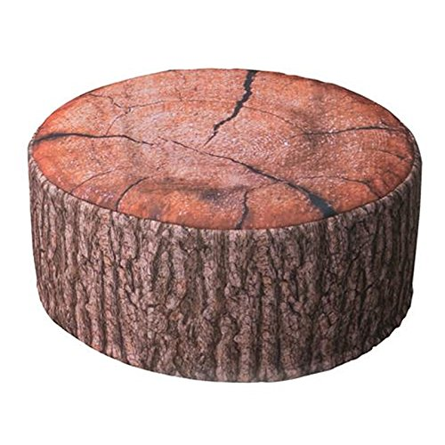 JEMIDI Outdoor Pouf Sitzkissen Sitzsack Wasserabweisend Sitzhocker Hocker Luftkissen Kissen Terrassen Sack Wood 1