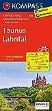 Taunus - Lahntal: Fahrrad- und Mountainbikekarte. GPS-genau. 1:70000: Fietskaart 1:70 000 (KOMPASS-Fahrradkarten Deutschland, Band 3068)