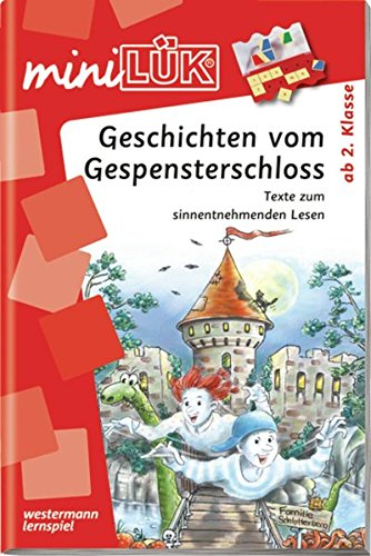 miniLÜK / Deutsch: miniLÜK: 2./3. Klasse - Deutsch: Geschichten vom Gespensterschloss (Deutsch 2 Lehrbuch)