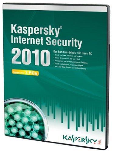 Kaspersky Internet Security 2010 (Lizenz für 3 PCs/DVD-Box) - Lab Pak