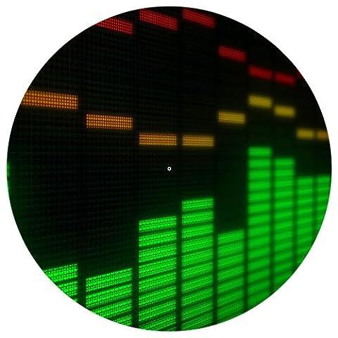 123t Tourne-disque Graphic Equalizer Slipmat x 1(simple)
