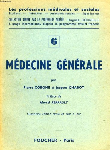 Medecine generale, 1re partie