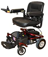 Roma Medical Reno II Powerchair Electric Indoor Mobility Scooter Deluxe Seat