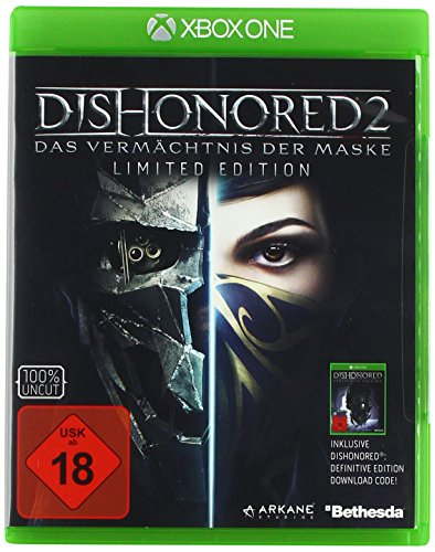 Dishonored 2: Das Vermächtnis der Maske - Limited Edition (inkl. Definitive Edition) [Xbox One] (Dishonored Special Edition)