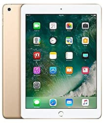 Apple iPad Tablet (9.7 inch, 32GB, Wi-Fi + 4G LTE + Voice Calling), Gold MPG42HN/A