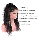 Perstar Lace Front Wigs Human Hair With Baby Hair Brazilian Water Wave Wet