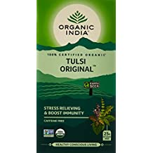 Organic India Tulsi Original Tea, 25 Infusion Tea Bags