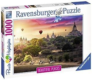 Ravensburger 15153 - Puzzle per Adulti, Soggetto: Mongolfiera su Myanmar