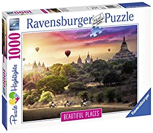 Ravensburger 00.015.153 Puzzle - Rompecabezas (Rompecabezas con Pistas Dibujadas, Paisaje, Niños y Adultos, 14 año(s), Interior, 370 mm)