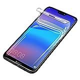 Didisky Protector de Pantalla para Huawei P20 Lite, Cubierta Completa, No Cristal Templado, Adecuado para Cualquier Funda, 2-Unidades