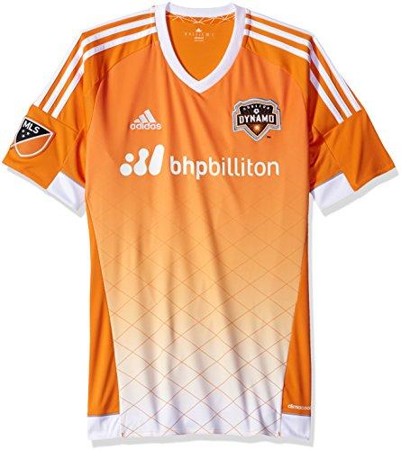 adidas MLS Houston Dynamo Herren Short Sleeve Replica Jersey, klein, orange