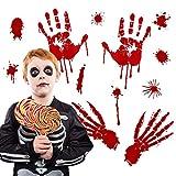 QTZJYLW Halloween Terror Blut Wandaufkleber Festival Dekoration Für Wohnkultur Kunst Aufkleber Tapete Fenster Glas (30X45Cm)