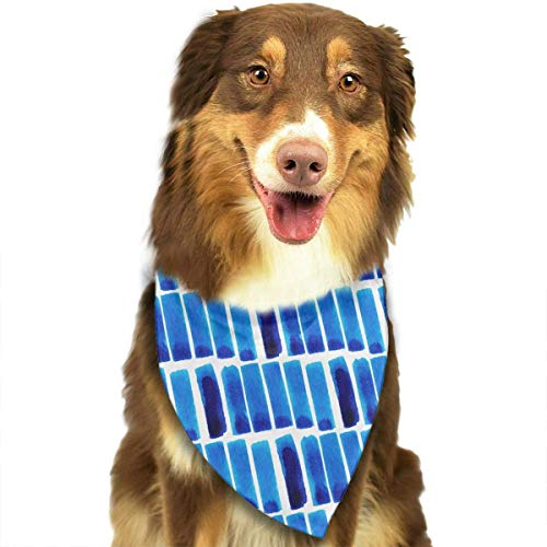 Hipiyoled Aquarell-Streifen-Muster-Mode-Nette lustige Party-Mädchen-Jungen-Hundebandana modern