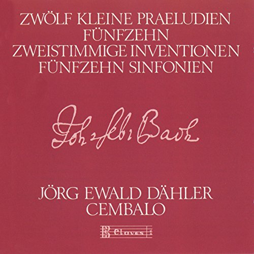 15 Two-Part Inventions: I. C Major, BWV 772 - II. C minor, BWV 773