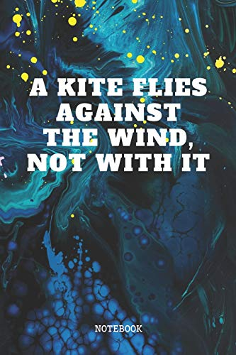 """Notebook: Funny Kite Surfer Quote / Kitesurfing Saying Kite Sport Planner / Organizer / Lined Notebook (6\"""" x 9\"""")"""