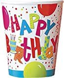 9oz Birthday Jamboree Paper Cups, Pack of 8