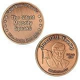 zijianZZJ Gedenkmünze, seltener Donald Trump 45. US-Präsident Commemorative Challenge Münzsammelmarke