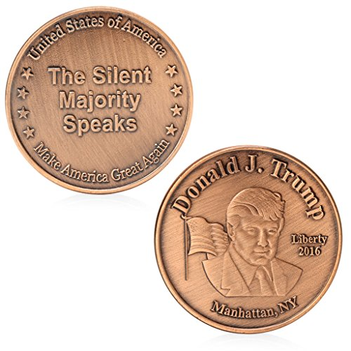 S-TROUBLE Donald Trump 45Th US President Memorative Challenge Münz-Sammlung Red Bronze
