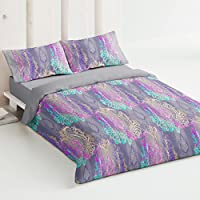 Burrito Blanco - Juego de funda nórdica 336 Azul, para cama de 180 x 190/200 cm.