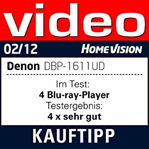Denon DBP-1611UD Blu Ray-Player (3D, LAN, USB 2.0): Amazon